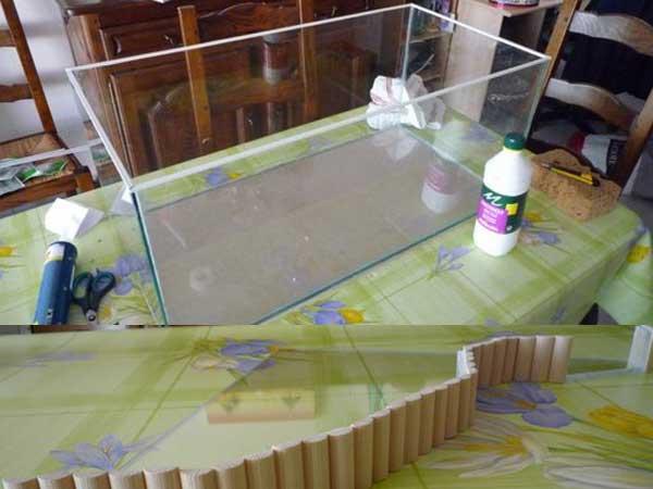 Bricolage Aquarium en Carton